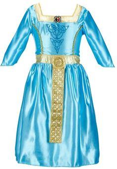 $14.99 Disney / Pixar Brave Merida Dress Costume - Girls
