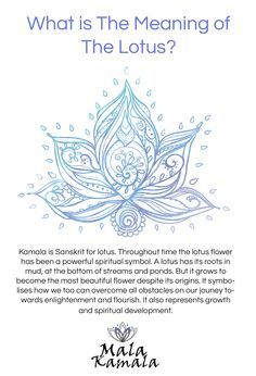 What is the significance of the lotus? What does the lotus mean? Spiritual Yoga Symbols - this would be my tattoo