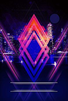 Diodo emisor de luz Diodo Laser Digital Antecedentes Black Background Wallpaper, Poster Background Design, Party Background, Neon Wallpaper, Night Background, Background Images, Black Backgrounds, Club Poster, Party Poster