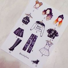 Mine is: Mine is: Mine is: Mine is: Mine is: Mine is: Mine is: 3 6 7 11 zeichnen topmodel Art Drawings Sketches, Kawaii Drawings, Easy Drawings, Dress Drawing, Drawing Clothes, Outfit Drawings, Fashion Design Drawings, Fashion Sketches, Social Media Art