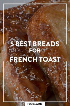 Looking to make French Toast for a breakfast or brunch recipe? Follow this guide to learn the best breads to use for a sweet and fulfilling breakfast. Whether you're looking for a classic bread, like brioche or Challah bread, or wanting something with a little extra wow factor, like sourdough, potato bread, or more, we've got you covered. Pair these French Toasts with a mimosa and enjoy your brunch.#breadrecipes #frenchtoastrecipes #brunchrecipes #breakfastrecipes Best Brunch Recipes, Breakfast Recipes, Wine Recipes, Bread Recipes, French Bread French Toast, Potato Bread, Challah, Breads, Potatoes