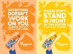 oasis campaign drinks 2016 - Google Search