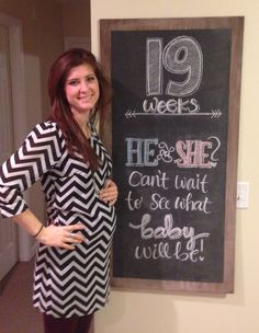 55 trendy baby bump week by week chalkboard Baby Bump Chalkboard, Weekly Pregnancy Chalkboard, Pregnancy Scrapbook, Pregnancy Quotes, Maternity Quotes, 19 Weeks Pregnant, Italian Shirts, Baby Puree Recipes, Baby Drawing