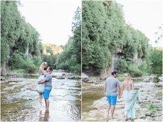 Engagement session Elora Gorge