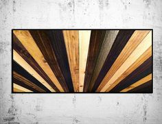 "Natural Stained Wood Headboard – ""Sunburst"" Wood Wall Sculpture – King Headboard – Modern Wood Wall Art – Wood Sculpture – Abstract Wood Art Stained Wood Sunburst Headboard Wall by ModernWoodWallArt on Etsy Wooden Wall Art, Wooden Walls, Wood Art, Framed Wall Art, Wall Wood, Large Wall Art, Wood Headboard, King Headboard, Rustic Headboards"