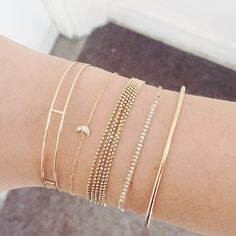 Love the little moon bracelet!!