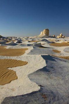 The White Desert, Farafra, Egypt