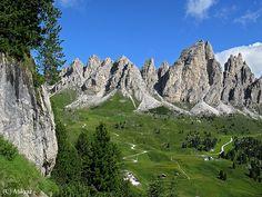 Dolomiti Val di Fassa  Montagne Italiane  #TuscanyAgriturismoGiratola