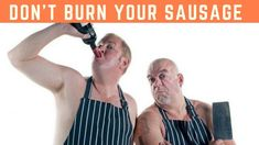 "MasterChef SA judge Pete Goffe-Wood and renowned Comic and Celebrity MasterChef SA winner - Chris Forrest have teamed up to prepare the ultimate ""Sp. Burns, Sausage, Celebrities, Youtube, Celebs, Sausages, Youtubers, Celebrity, Youtube Movies"