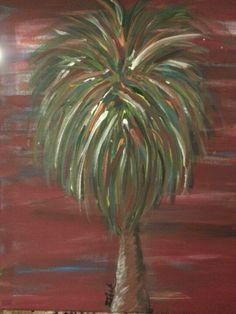 My art - SRB (Red Sky Palmetto)