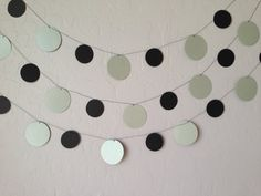 Black and Silver Metallic Circle by eyepoppingcreations on Etsy, $16.00