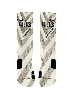 Custom Philippians 4:13 Socks Custom Nike Elite by NikkisNameGifts