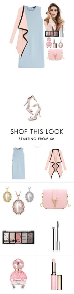 """Lovely outfit TOMTOP"" by eliza-redkina ❤ liked on Polyvore featuring Theory, Gabor, H&M, Marc Jacobs, Clarins, outfit, like, look, lovely and tomtop"