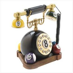 telephone billard ....... Oh man, I just HAVE to find this!!!