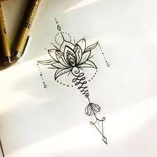 Resultado de imagen para unalome flor de lis