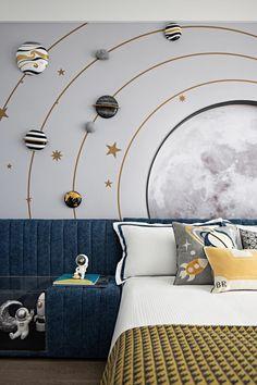 Baby Boy Room Decor, Baby Boy Rooms, Baby Room, Kids Room Design, Home Room Design, House Design, Kids Bedroom Boys, Teen Bedroom, Chambre Nolan