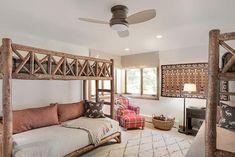 7 Rustic Bunk Rooms We Love - Mountain Living Aspen, Bunk Bed Rooms, Custom Bunk Beds, Rustic Design, Rustic Style, Mountain Living, Built In Shelves, Rustic Interiors, Room Inspiration