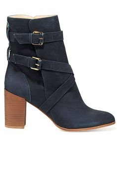 love the double buckle and the color of this boot