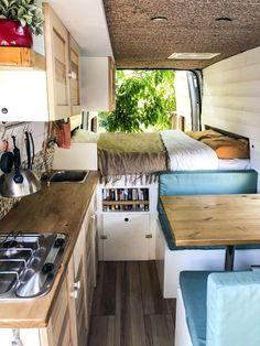 Ford Transit L3H3 conversion - 100% homemade ! #homeonwheels #vanlife