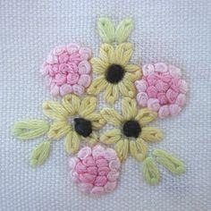 English embroidery stitch - Buscar con Google