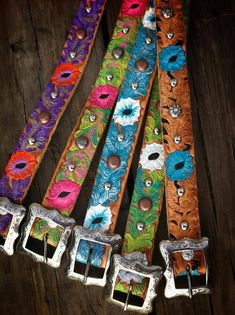 Dog collars from The Cowboy Junkie $49