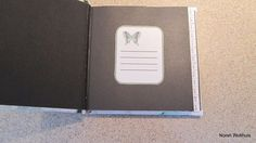 Inside cover of Butterfly Book.