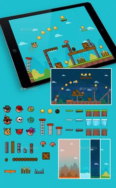 Physics #Game Set - Game Kits Game Assets Download here: https://graphicriver.net/item/physics-game-set/19502464?ref=alena994