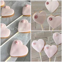 Romantici biscottini a cuore ☺️💝 #instafood #ilas #ilassweetness #cakedesign #biscotti #cuore #robertatorresan  www.ilas.webnode.it www.facebook.com/ilascake