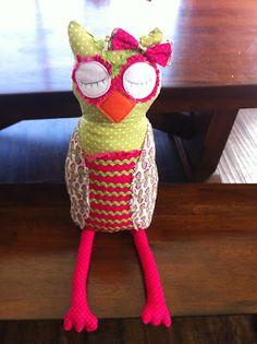 3 Little Things...: Owl Stuffy