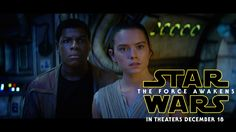 Pin for Later: The Teasers For Star Wars: Episode VII — The Force Awakens Keep on Coming! Star Wars: The Force Awakens Final Trailer Film Star Wars, Star Wars Vii, Star Wars Watch, Luke Skywalker, Mark Hamill, Carrie Fisher, New Trailers, Movie Trailers, Trailer Film