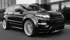 2014 Black Hamann Range Rover Vogue