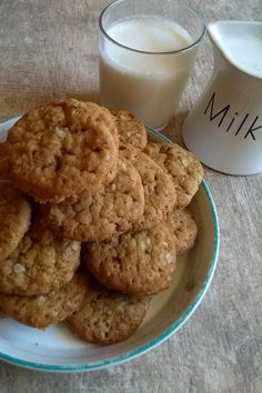 My Coffee Shop, Pan Dulce, Cookie Recipes, Muffin, Food And Drink, Tasty, Sweets, Healthy Recipes, Cookies