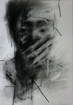 """""""No one would have called him beautiful."""" Artist and artist's title: Untitled conte On Paper by Shin Kwang Ho Life Drawing, Figure Drawing, Painting & Drawing, Drawing Tips, Arte Yin Yang, Ap Studio Art, A Level Art, Gravure, Figurative Art"""