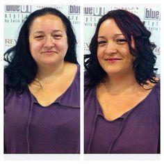 Antes y después de una visita en nuestro salón de L'H. #blue01stylist #photocall #peluquer… http://ift.tt/1NS2msi