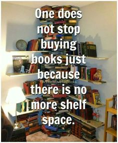 Actually, I am a long time book collector even though I also always used libraries. Now out of concern for the environment, I pretty much only borrow books from the library. Sharing is good for the environment.