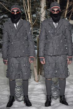 Moncler Gamme Bleu Fall 2017 Menswear Collection - Fashion Unfiltered