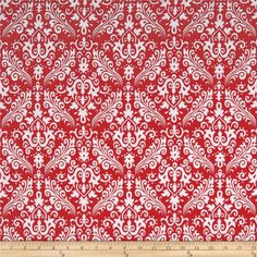 Designed by RBD Designers, this double-napped (brushed on both sides) flannel is perfect for quilting, apparel and home decor accents.  Colors include white and red.