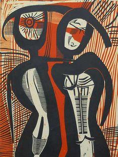cecil skotnes Figurative Kunst, South African Art, Contemporary African Art, African Artists, True Art, Paintings I Love, Art For Art Sake, Tribal Art, Art Reproductions