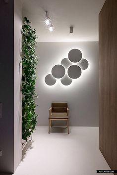 Accent Lighting - Branding Potential  Olga Akulova - Industrial Apartment, Kiev, Ukraine