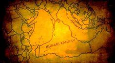 Borders of Kumari Kandam