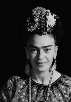 Photograph of Frida Kahlo by Marcel Sternberger, Mexico, 1952