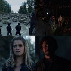 It was Clarke's turn to save Bellamy. Now it's helps turn to save her.