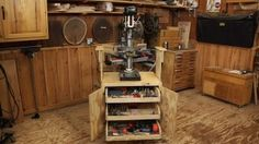 SLV:  WWGOA Shop Cabinet for Benchtop Tools