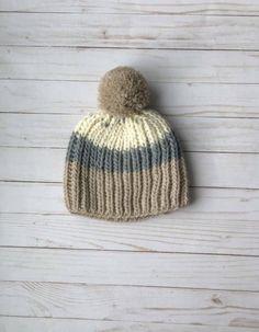 Free Fisherman's Rib Hat Knitting Pattern - French Press - Whimsy North Beanie Knitting Patterns Free, Free Knitting, Hat Patterns, Baby Knitting, Fishermans Rib, Pom Pom Maker, Circular Knitting Needles, Pattern Mixing, French Press