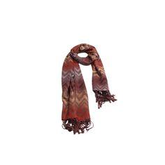 Pashmina Zig Zag Marrom de Viscose #pashmina #pashimina #modafeminina #fashion #scarf #scarfs