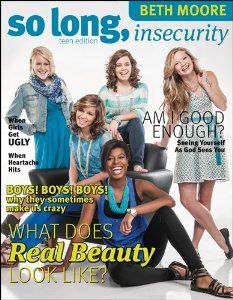 So Long, Insecurity Teen Edition - Beth Moore :: Tyndale House Publishers Girls Bible, Girl Thinking, Beth Moore, Parenting Teens, Foster Parenting, Parenting Plan, Real Beauty, Fashion Books, Insecure