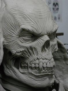 Image result for baby skull sculpt