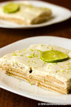 Pinners in Mexico are saving this lime-flavored pie to try. Sweet Desserts, Just Desserts, Sweet Recipes, Cooking Time, Cooking Recipes, Mexican Food Recipes, Dessert Recipes, Love Food, Sweet Treats