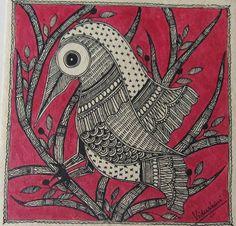 Madhubani art by artist Vidushini