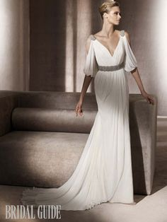Pronovias - maybe for second dress
